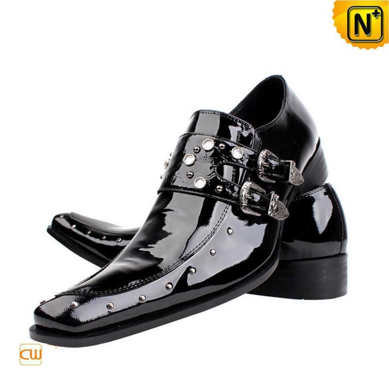 men leather dress shoes cw701107